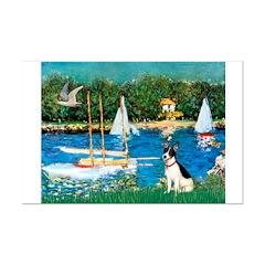 Sailboats / Rat Terrier Posters
