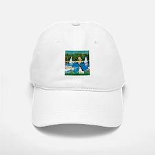 Sailboats / Rat Terrier Baseball Baseball Cap