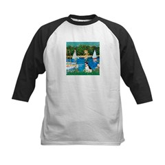 Sailboats / Rat Terrier Tee