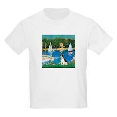 Sailboats / Rat Terrier T-Shirt