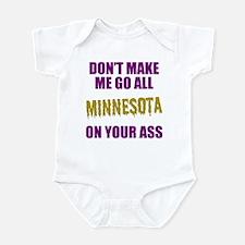 Minnesota Football Infant Bodysuit