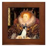 Queen / Rat Terrier Framed Tile