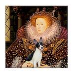 Queen / Rat Terrier Tile Coaster