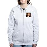 Queen / Rat Terrier Women's Zip Hoodie