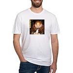 Queen / Rat Terrier Fitted T-Shirt