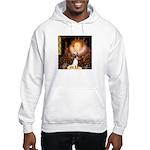 Queen / Rat Terrier Hooded Sweatshirt