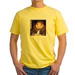 Queen / Rat Terrier Yellow T-Shirt