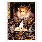 Queen / Rat Terrier Small Poster