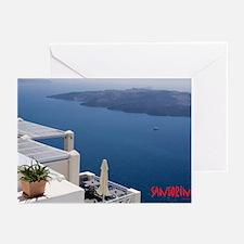 Funny Santorini Greeting Cards (Pk of 10)