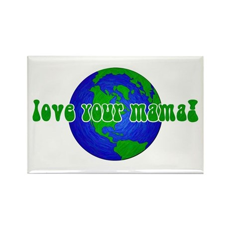Your Mama Rectangle Magnet (10 pack)