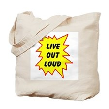 LIVE NOW! Tote Bag