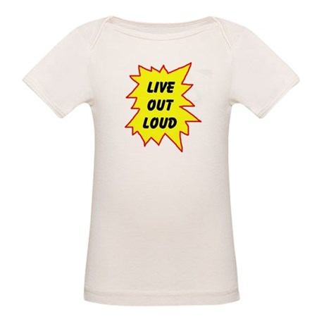 LIVE NOW! Organic Baby T-Shirt