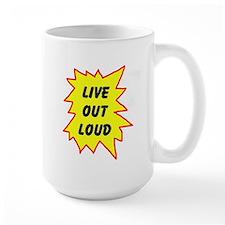 LIVE NOW! Mug
