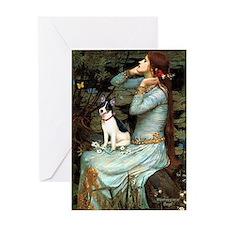 Ophelia / Rat Terrier Greeting Card