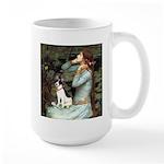 Ophelia / Rat Terrier Large Mug