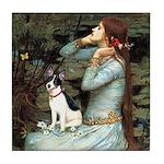 Ophelia / Rat Terrier Tile Coaster