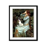 Ophelia / Rat Terrier Framed Panel Print