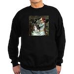 Ophelia / Rat Terrier Sweatshirt (dark)