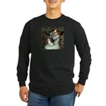 Ophelia / Rat Terrier Long Sleeve Dark T-Shirt
