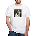 Ophelia / Rat Terrier White T-Shirt