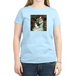 Ophelia / Rat Terrier Women's Light T-Shirt