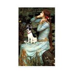 Ophelia / Rat Terrier Sticker (Rectangle 10 pk)