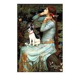 Ophelia / Rat Terrier Postcards (Package of 8)