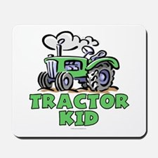 Green Tractor Kid Mousepad