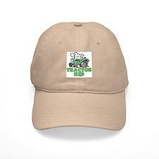 Green Tractor Kid Baseball Baseball Cap