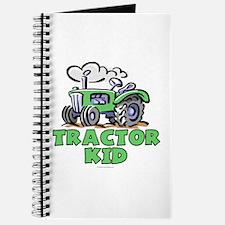 Green Tractor Kid Journal
