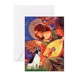 Mandolin / Rat Terrier Greeting Cards (Pk of 20)