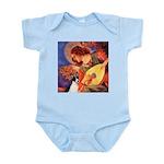 Mandolin / Rat Terrier Infant Bodysuit