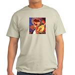 Mandolin / Rat Terrier Light T-Shirt
