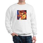 Mandolin / Rat Terrier Sweatshirt