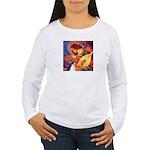 Mandolin / Rat Terrier Women's Long Sleeve T-Shirt