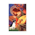 Mandolin / Rat Terrier Sticker (Rectangle 50 pk)