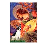 Mandolin / Rat Terrier Postcards (Package of 8)
