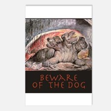 Beware of the Dog! Image  by William Blake of thre