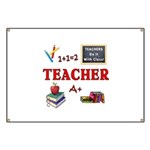Teachers Do It With Class Banner