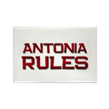 antonia rules Rectangle Magnet