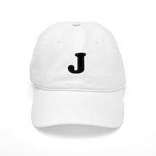 Large Letter J Baseball Cap