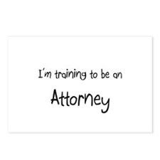 I'm Training To Be An Attorney Postcards (Package