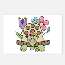 Springtime Turtle Postcards (Package of 8)