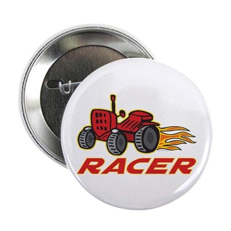 "Tractor Racing 2.25"" Button"