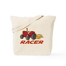 Tractor Racing Tote Bag