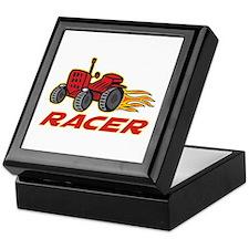 Tractor Racing Keepsake Box
