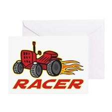 Tractor Racing Greeting Cards (Pk of 10)