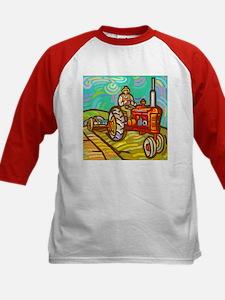 Van Gogh Tractor Tee