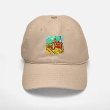 Van Gogh Tractor Baseball Baseball Cap