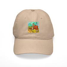 Van Gogh Tractor Baseball Cap